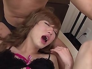 Guy sucking Asian shemale dick